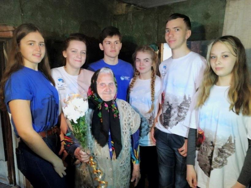 06.05.2018, п.Вандыш. Иванцова Мария Михайловна, единственная женщина-ветеран, проживающая в Вандыше.
