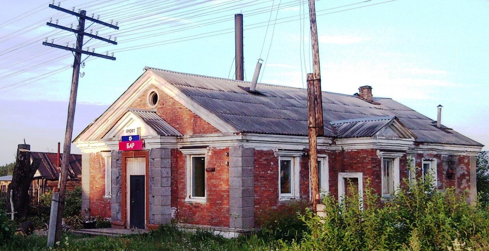 08.07.2012, последний вид Бани на перекрестке улиц Задорожная и К.Зинина (2)