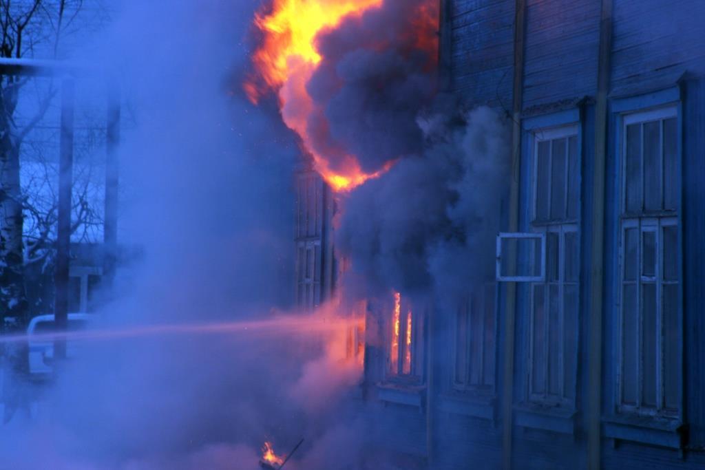 13.12.2007. Пожар в УСШ (36) Автор Викторов Н.А.