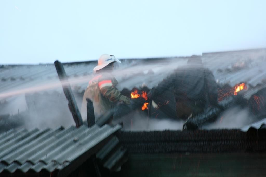 13.12.2007. Пожар в УСШ (40) Автор Викторов Н.А.