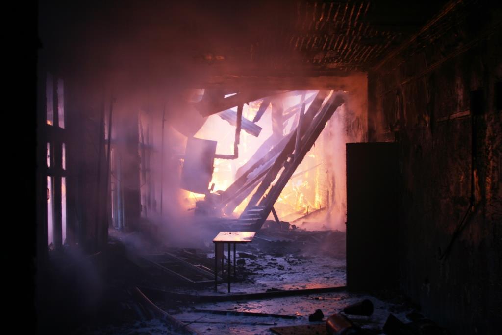 13.12.2007. Пожар в УСШ (45) Автор Викторов Н.А.