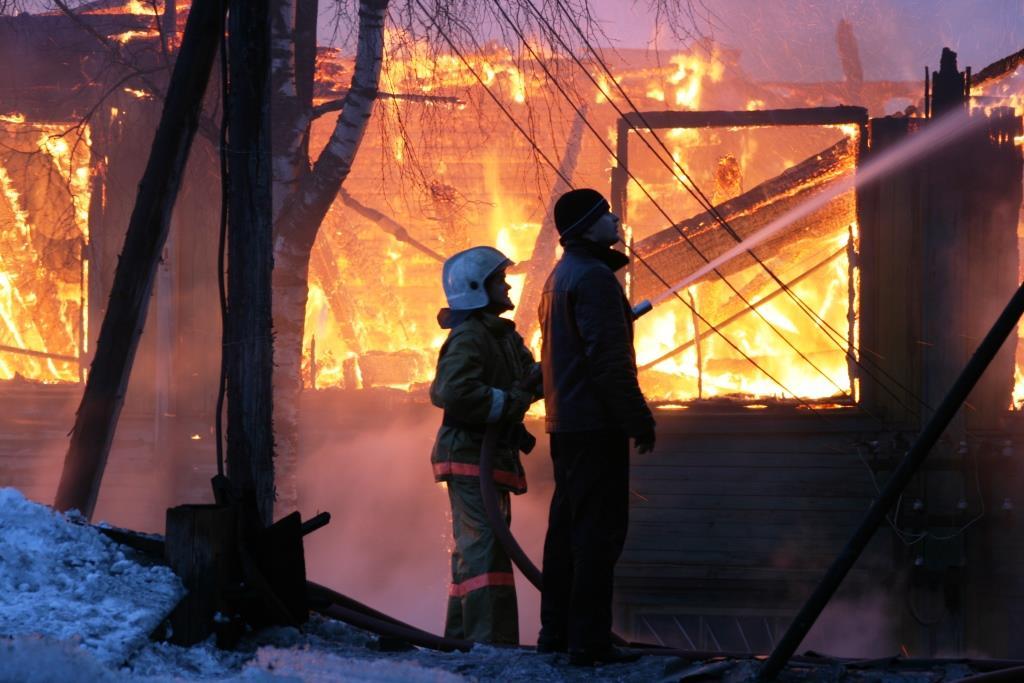 13.12.2007. Пожар в УСШ (50) Автор Викторов Н.А.