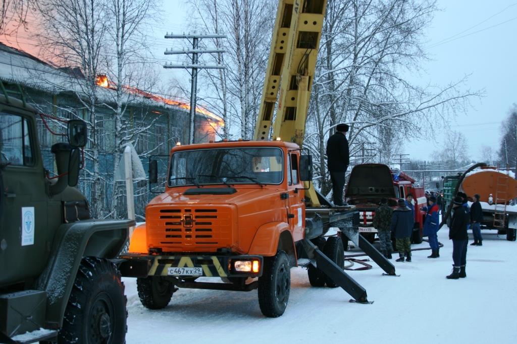 13.12.2007. Пожар в УСШ (56) Автор Викторов Н.А.