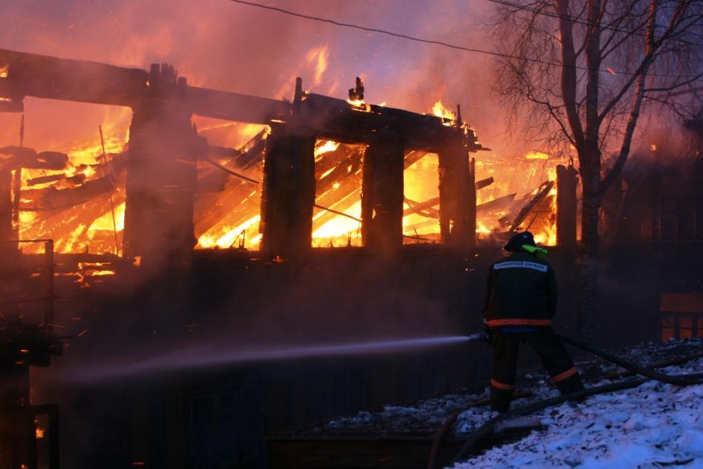 13.12.2007. Пожар в УСШ (60) Автор Викторов Н.А.