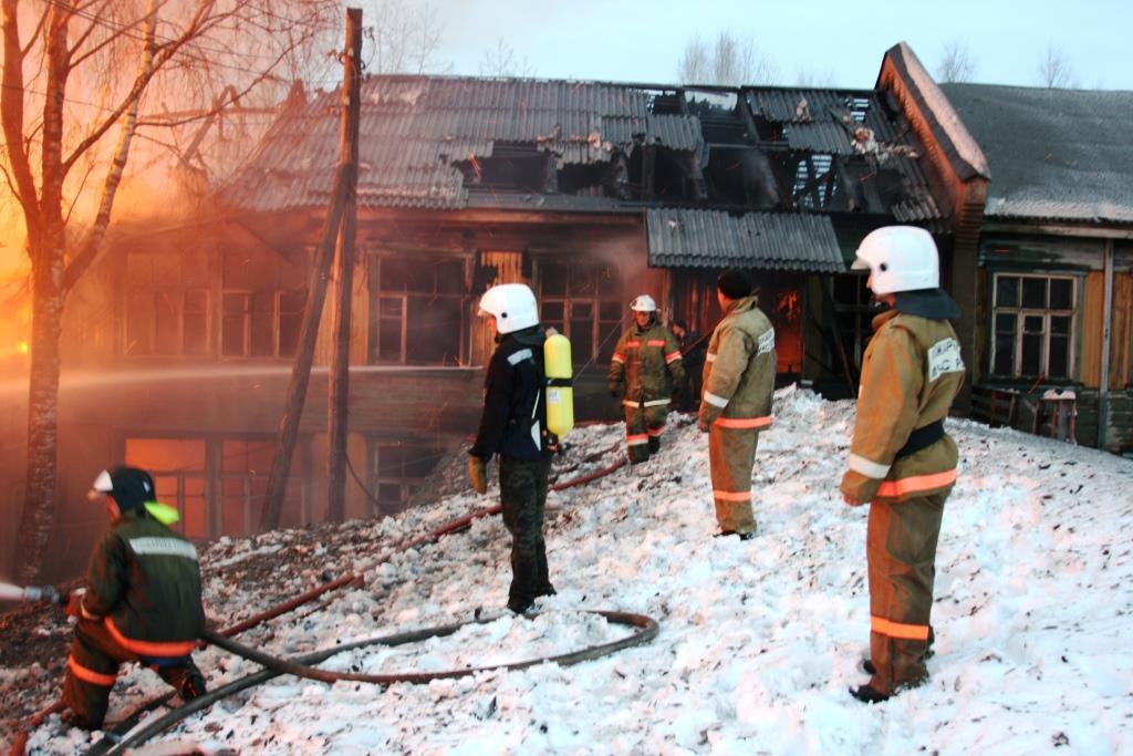 13.12.2007. Пожар в УСШ (61) Автор Викторов Н.А.