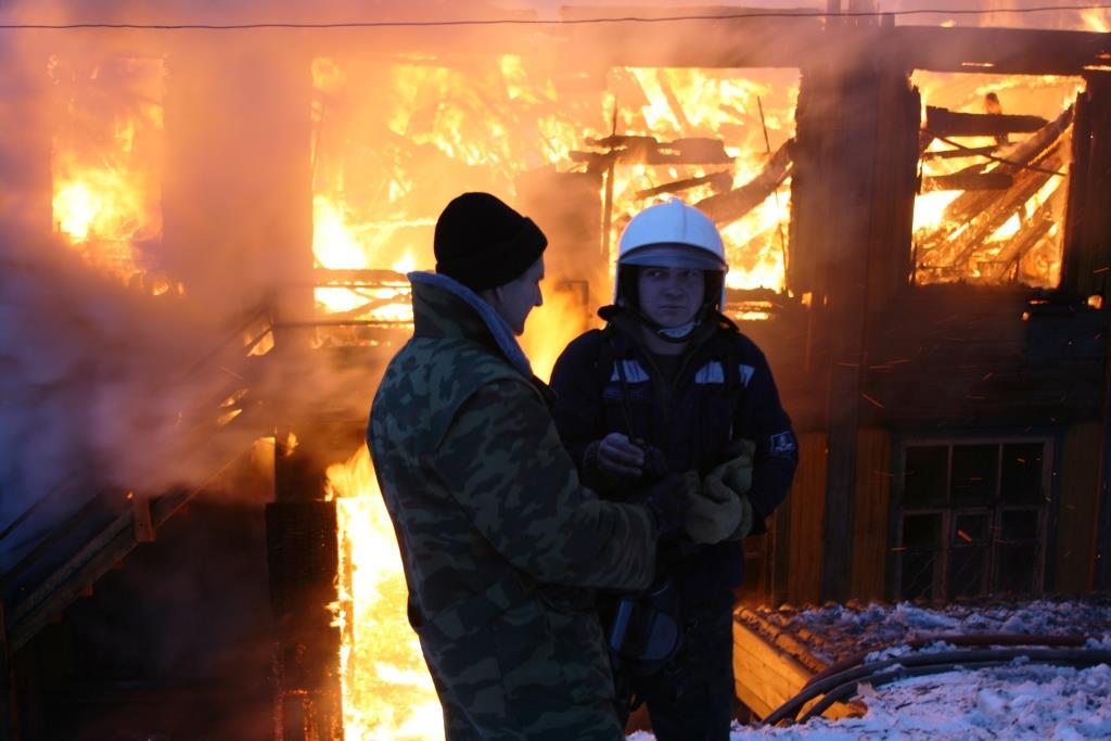 13.12.2007. Пожар в УСШ (63) Автор Викторов Н.А.
