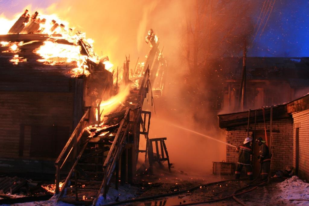 13.12.2007. Пожар в УСШ (71) Автор Викторов Н.А.