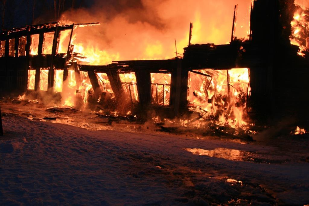 13.12.2007. Пожар в УСШ (79) Автор Викторов Н.А.