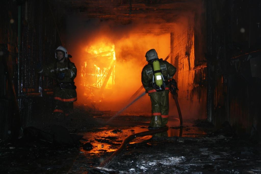 13.12.2007. Пожар в УСШ (86) Автор Викторов Н.А.