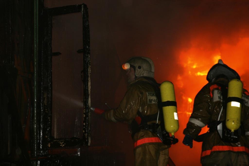 13.12.2007. Пожар в УСШ (88) Автор Викторов Н.А.