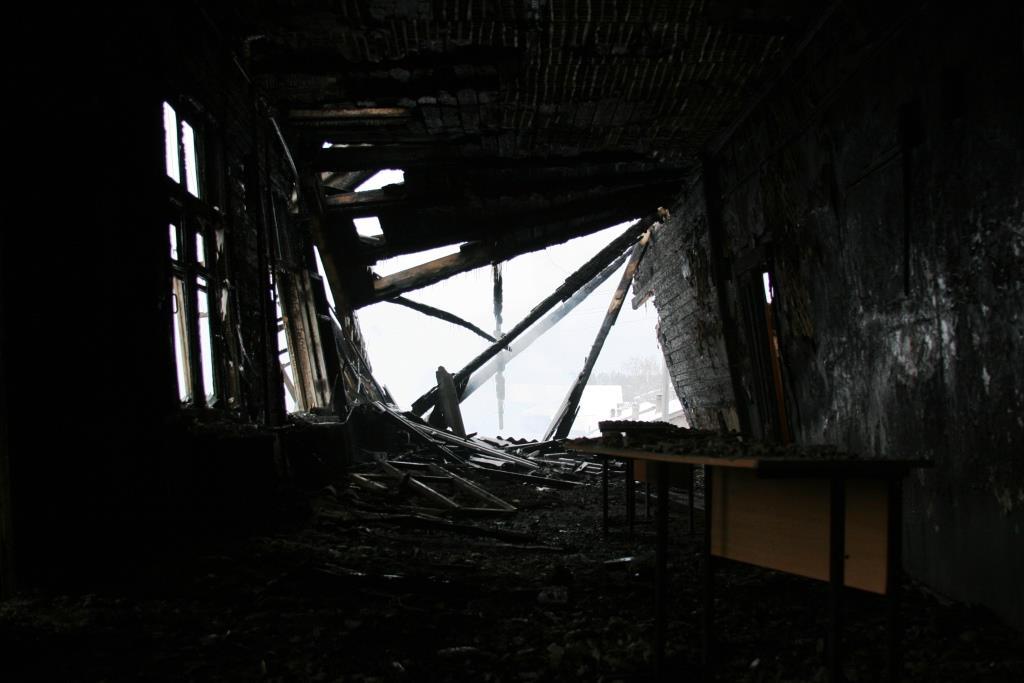 14.12.2007. Пожар в УСШ (100) Автор Викторов Н.А.