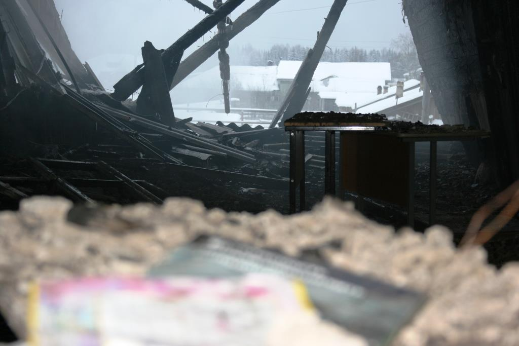 14.12.2007. Пожар в УСШ (103) Автор Викторов Н.А.