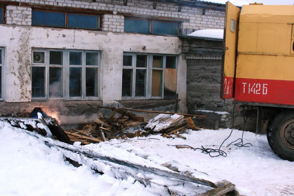 14.12.2007. Пожар в УСШ (107) Автор Викторов Н.А.