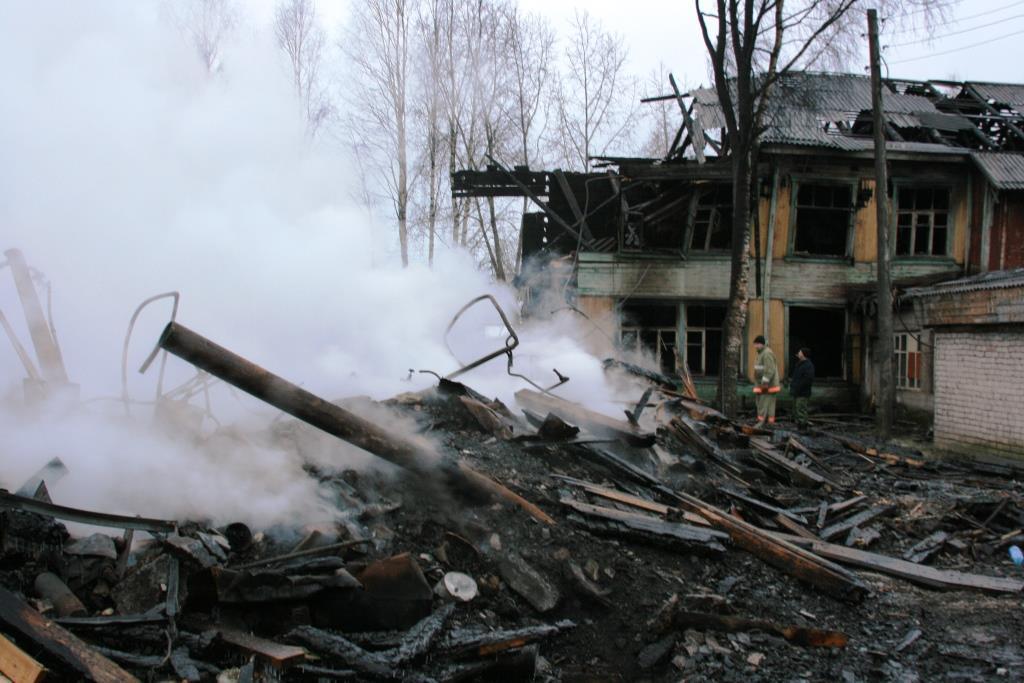 14.12.2007. Пожар в УСШ (108) Автор Викторов Н.А.