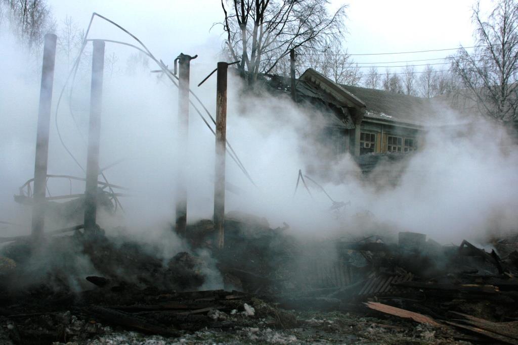 14.12.2007. Пожар в УСШ (110) Автор Викторов Н.А.