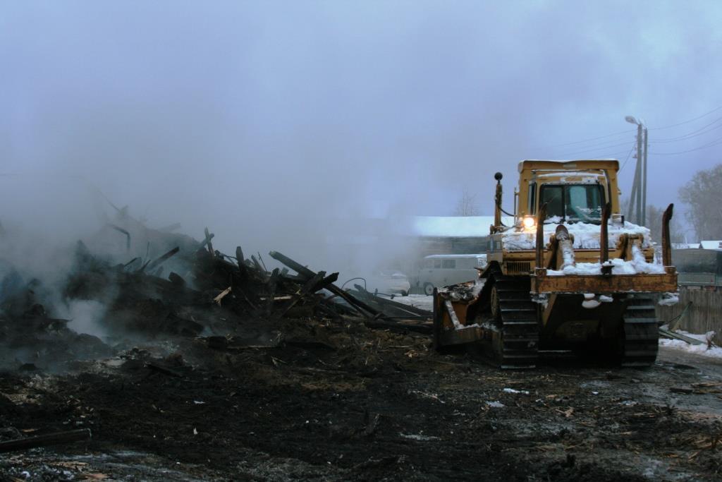 14.12.2007. Пожар в УСШ (111) Автор Викторов Н.А.