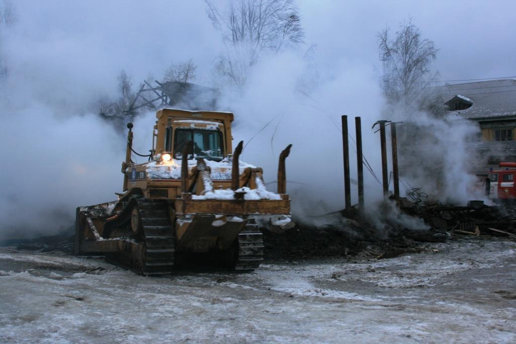 14.12.2007. Пожар в УСШ (113) Автор Викторов Н.А.