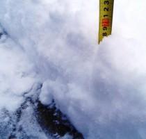 15.11.2017, п.Урдома, ул.Задорожная. Более 15 см снега выпало один раз (14-15 ноября).