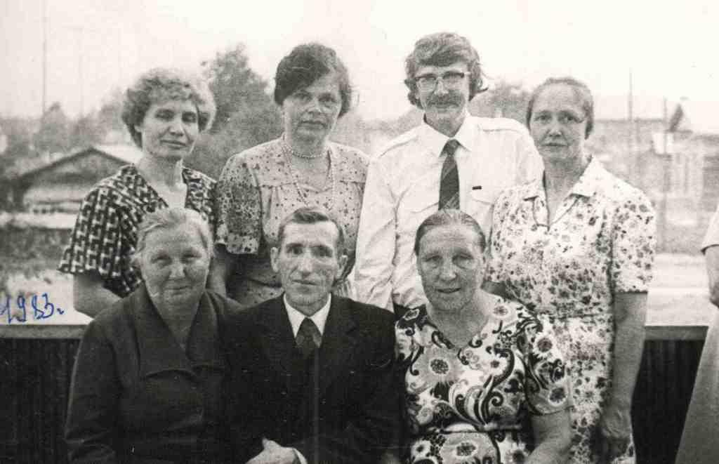 1983 год. Работники родильного отделения.