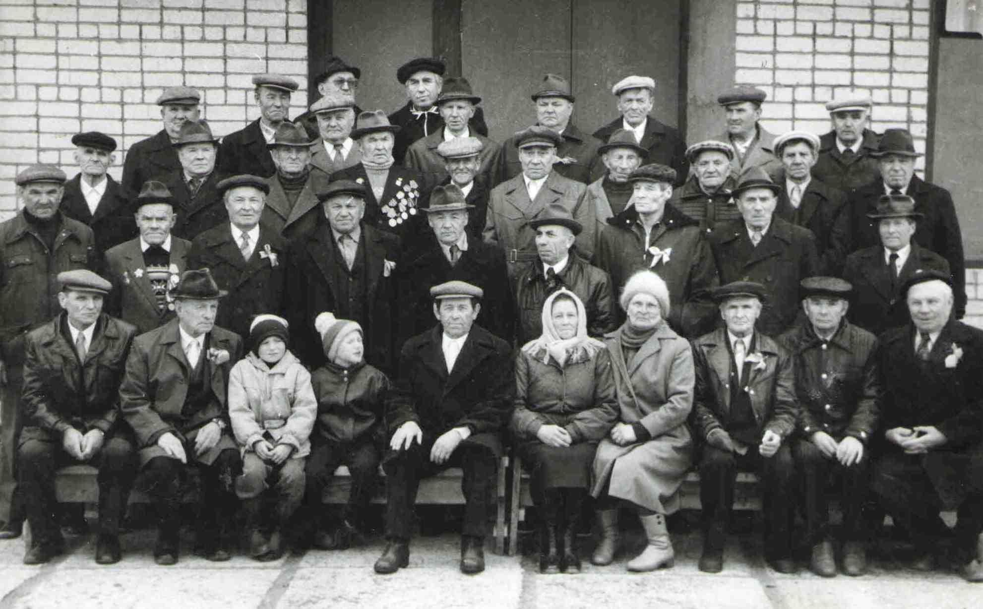 158. Встреча ветеранов в Доме культуры.