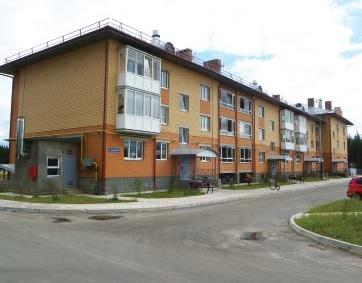 16-квартирный дом в Урдоме. Газета =Севергазпром=, сентябрь 2012, № 8-9. Газпром трансгаз Ухта.