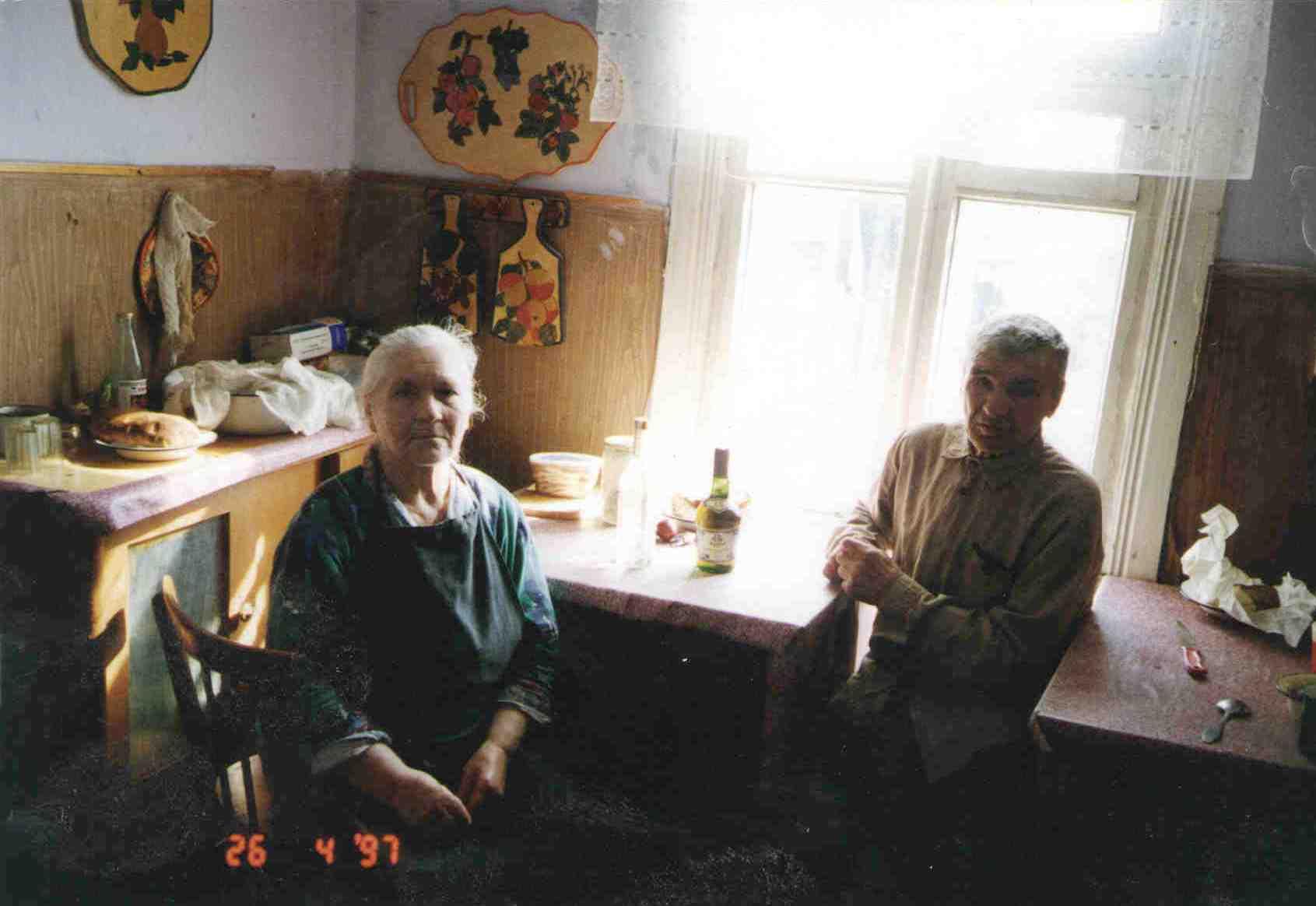 162. Всю урдомскую жизнь супруги Барыкины прожили в леспромхозовской квартире по улице Молодежной д.11.