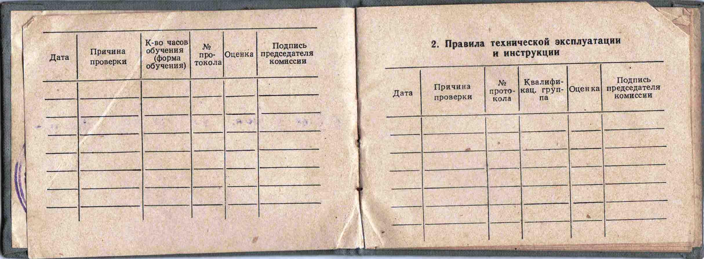 17. Удостоверение вальщика леса бензопилой Дружба, 1960 г.
