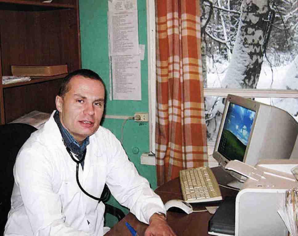 Шайкин Николай Михайлович, врач-педиатр.