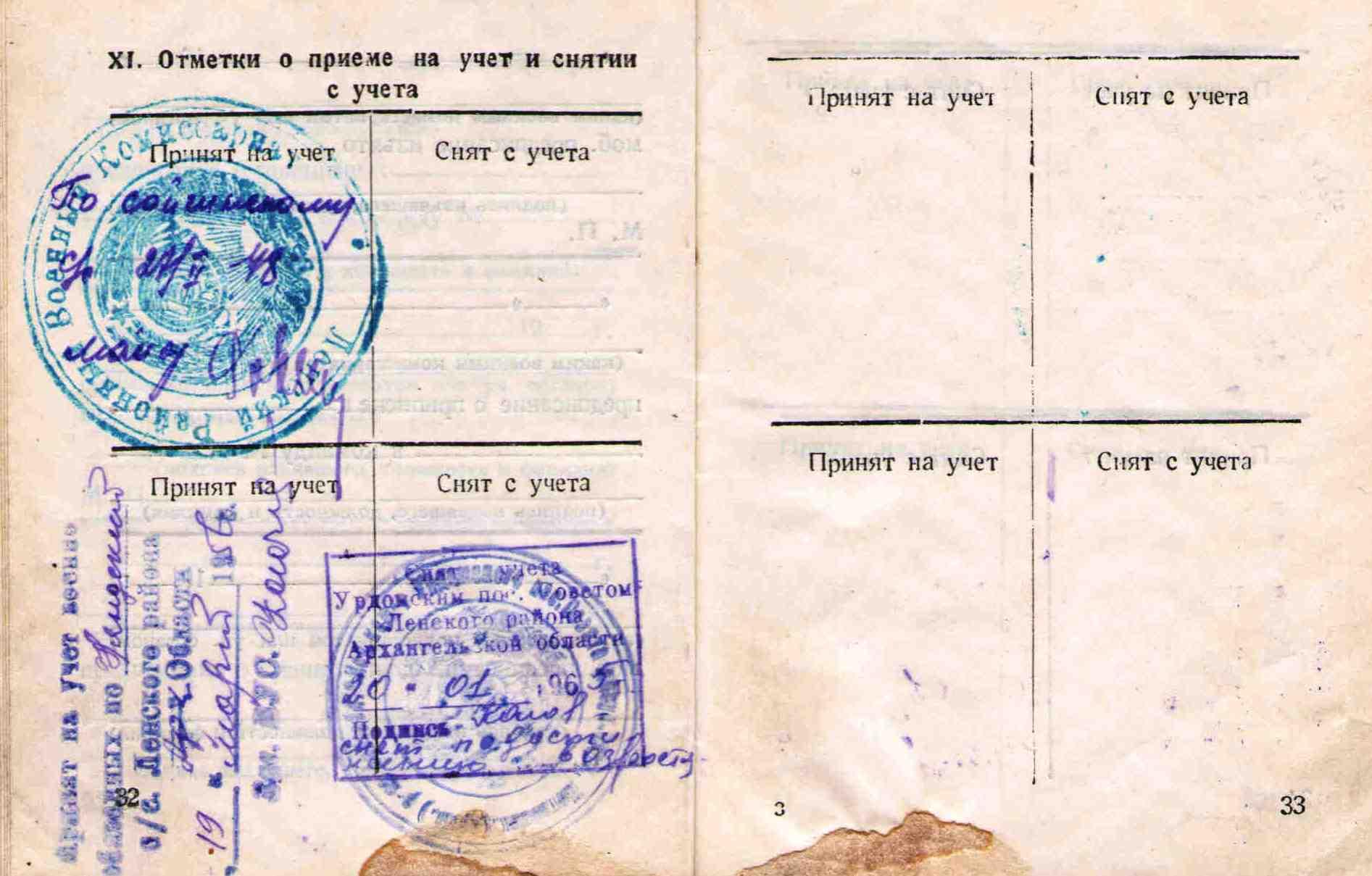 18. Военный билет Барыкина ПП,1948