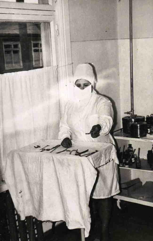Гробовая Тамара Григорьевна, медсестра.