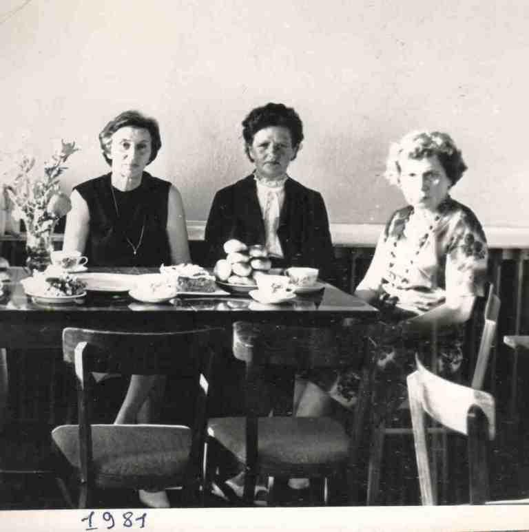 1981 год, июнь. Урдомская больница. Встреча с Дыкман Мирой Григорьевной, врачом, работавшем в нашей больнице в 1948-53 годах. В 1950 году при ней врачебная амбулатория преобразована в участковую больницу на 5 коек и с 3-мя фельдшерскими пунктами. В то время наша больница называлась «Нянданская».