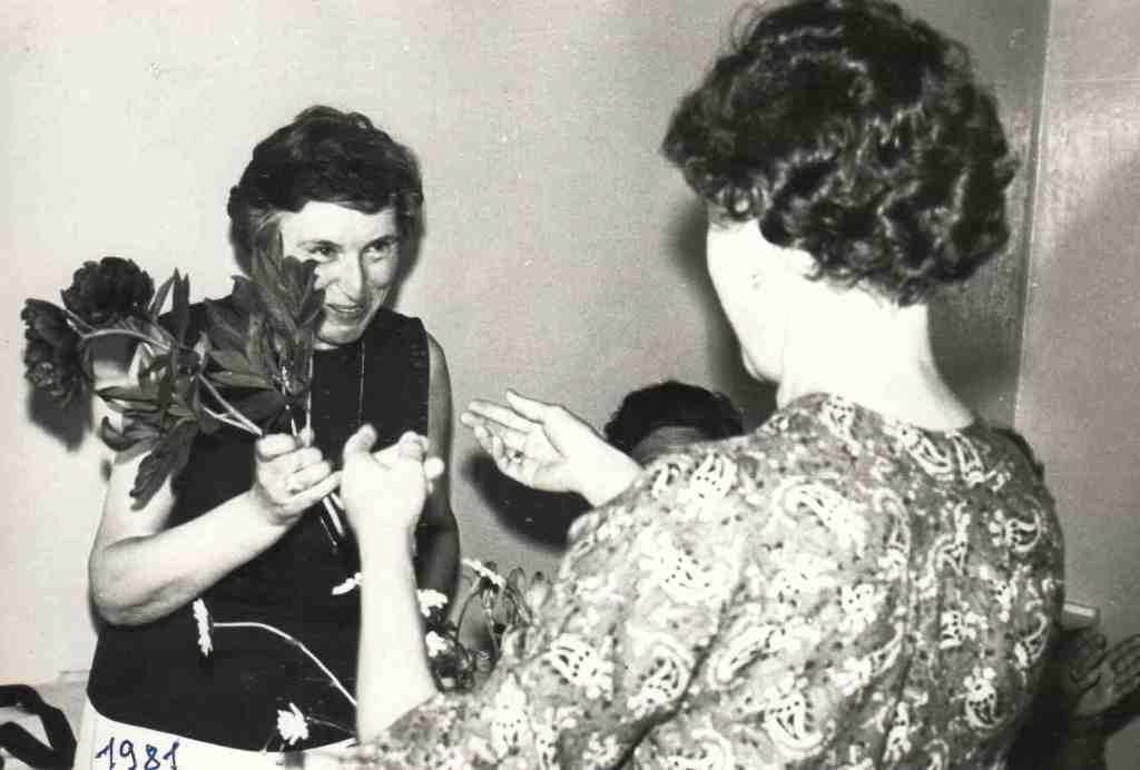 1981 год, июнь. Урдомская больница. Встреча с Дыкман М.Г.