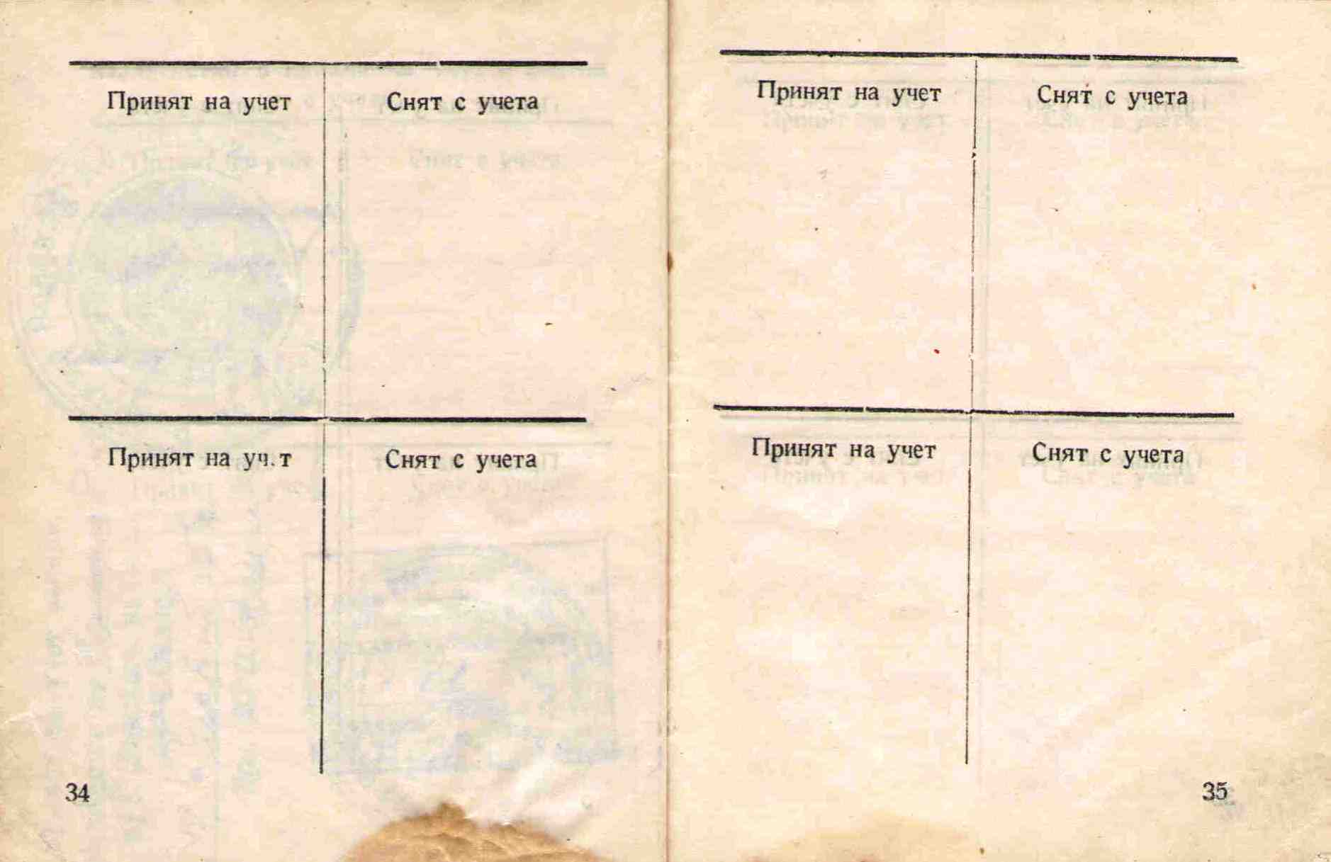19. Военный билет Барыкина ПП,1948