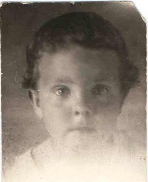 1941, п.Нянда. Богомолова Юлия. Семейный архив Геец (Богомолова) Ю.А., п.Урдома.