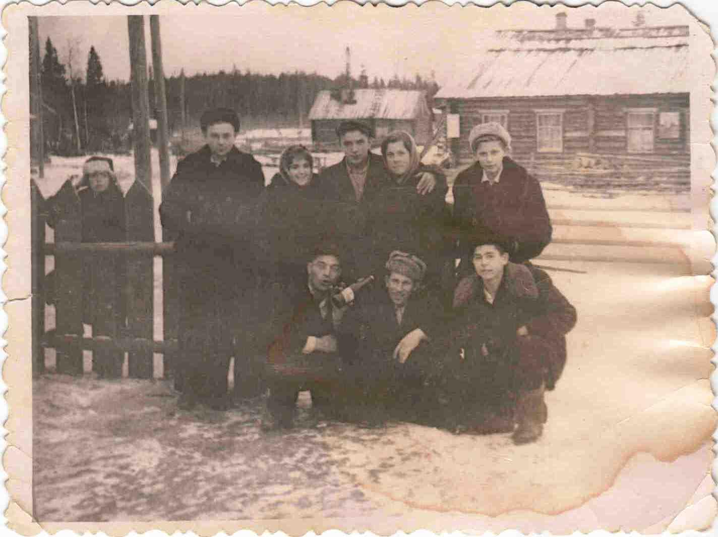 1959, 7 октября, п. Новая Ёль.