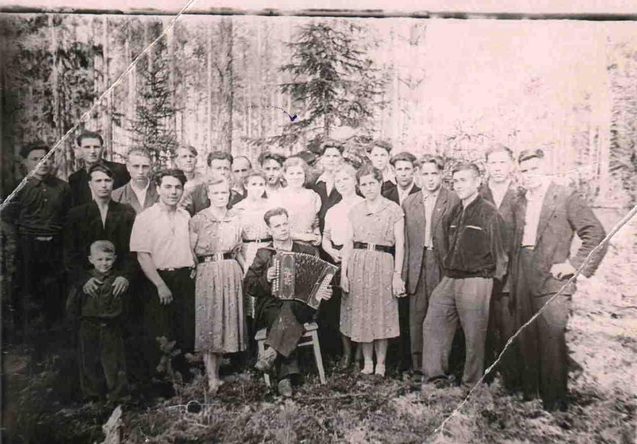 1959 май, п. Новая Ёль.
