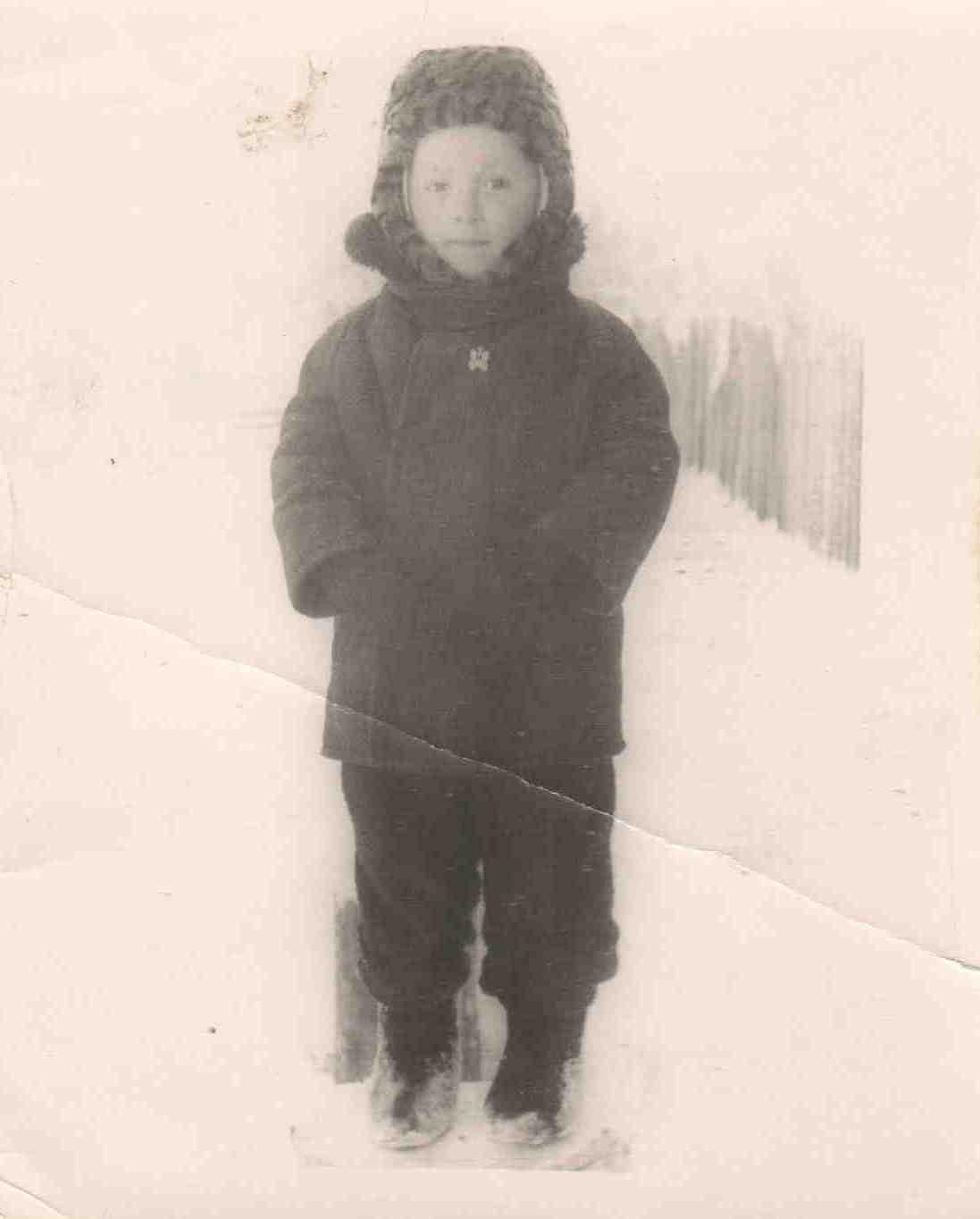 1970. п. Вандыш. Кравец Саша.