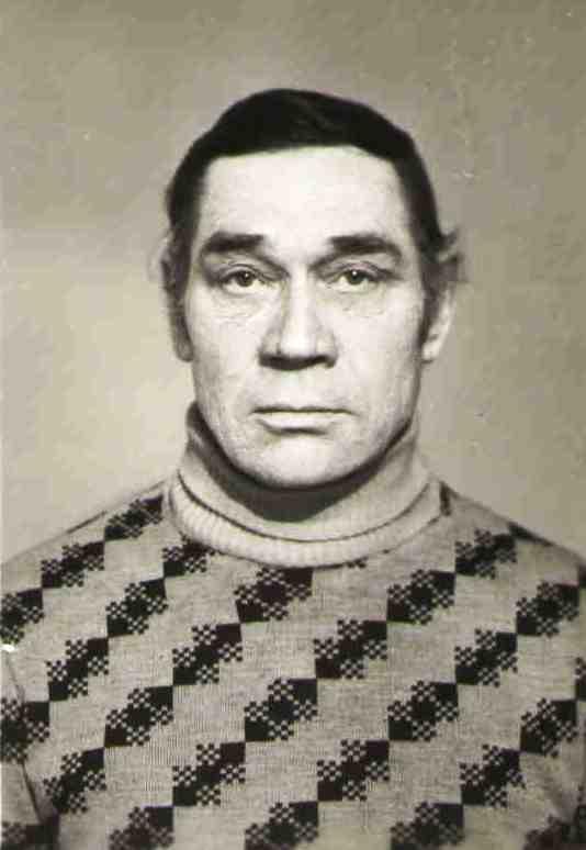 1980-е, Лосев Николай Андреевич, фото при замене на новый советский паспорт