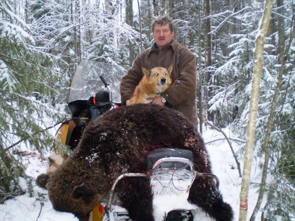1999, 22 ноября. Медведь, Кокшаров Н.А.