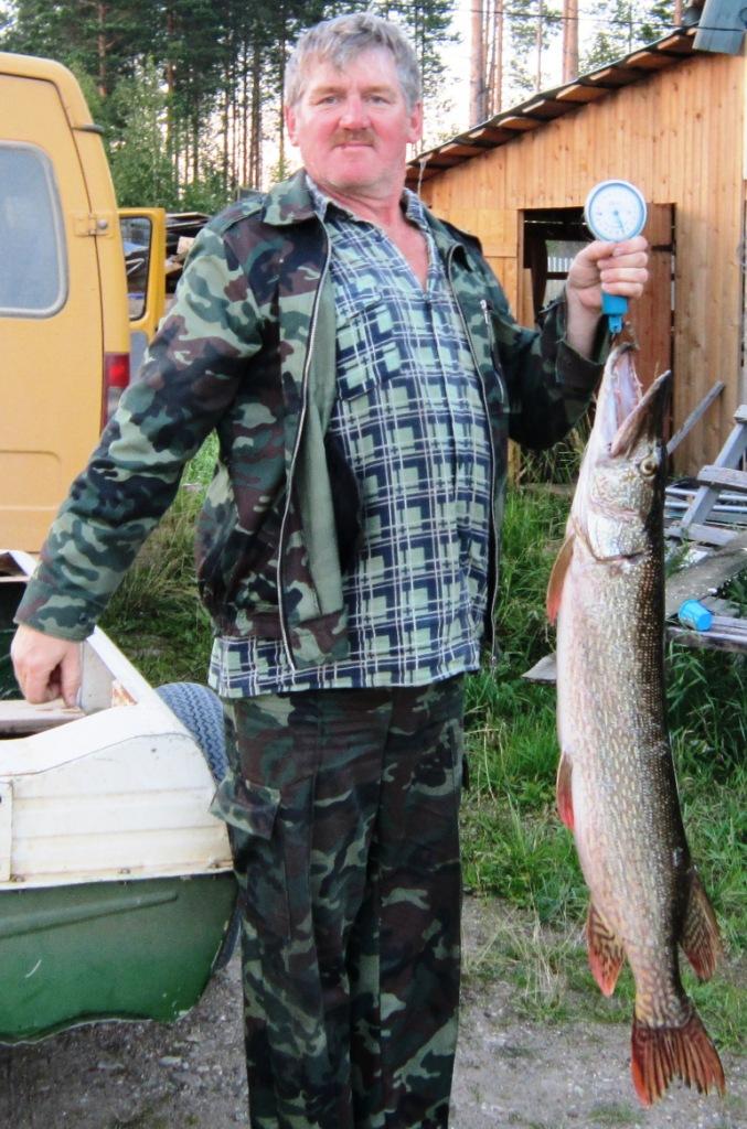 2012, 07 августа, щука, поймана на Вычегде, Кокшаров Н.А., Урдома.