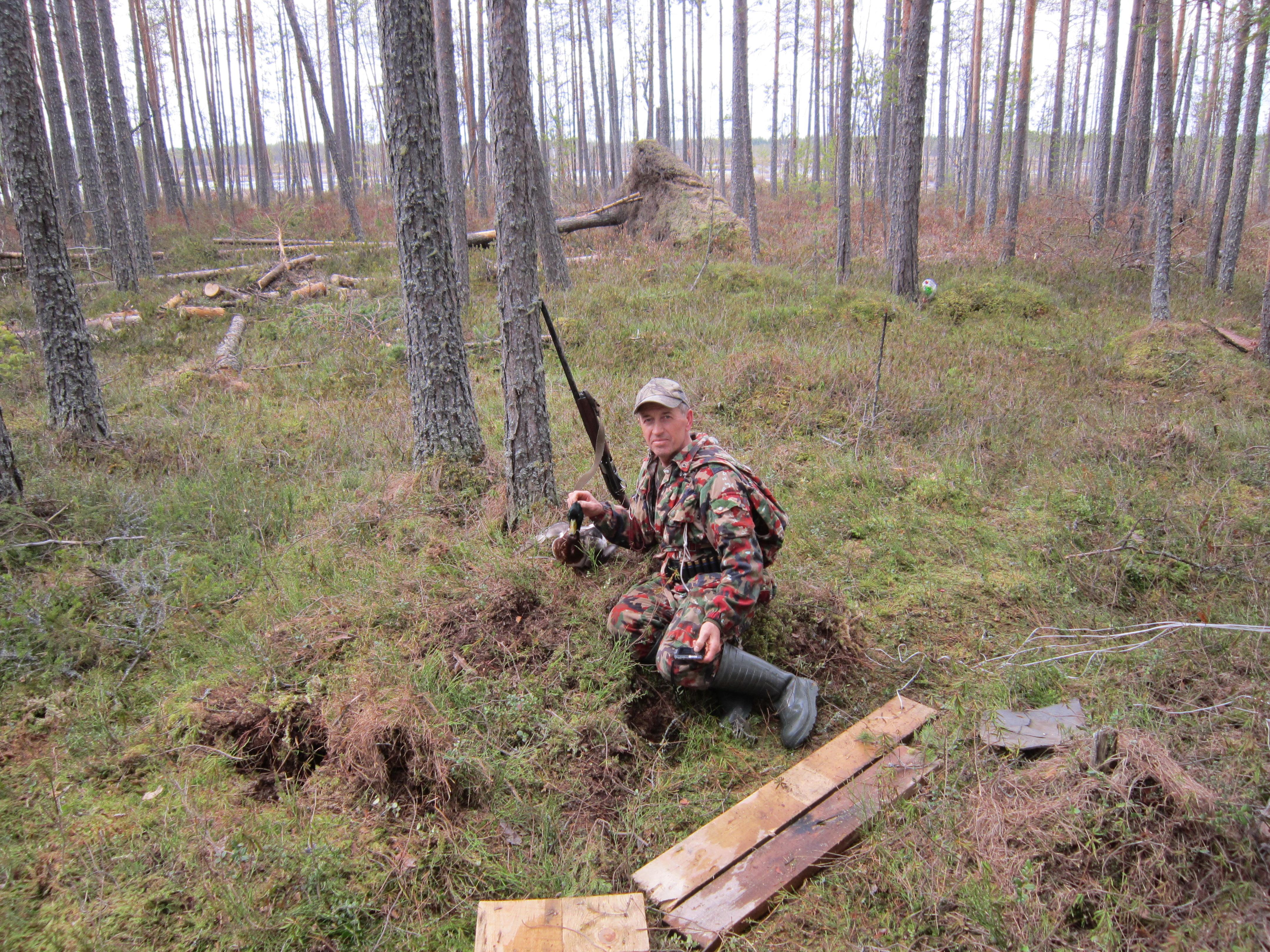 2013, 04 мая, охотник Воронцов Николай Николаевич, добыча - селезень.