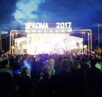 """22.07.2017, п.Урдома, День Урдомы-2017. На сцене группа """"Винтаж""""."""