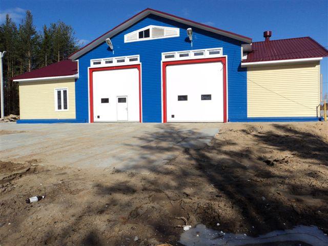 25.04.13 в Урдоме новое пожарное депо 1