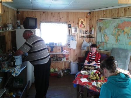 29.03.2014, (6) приготовление шашлыка - дело мужское