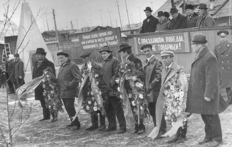 7. 9 мая 1970-75 митинг у Обелиска Победы