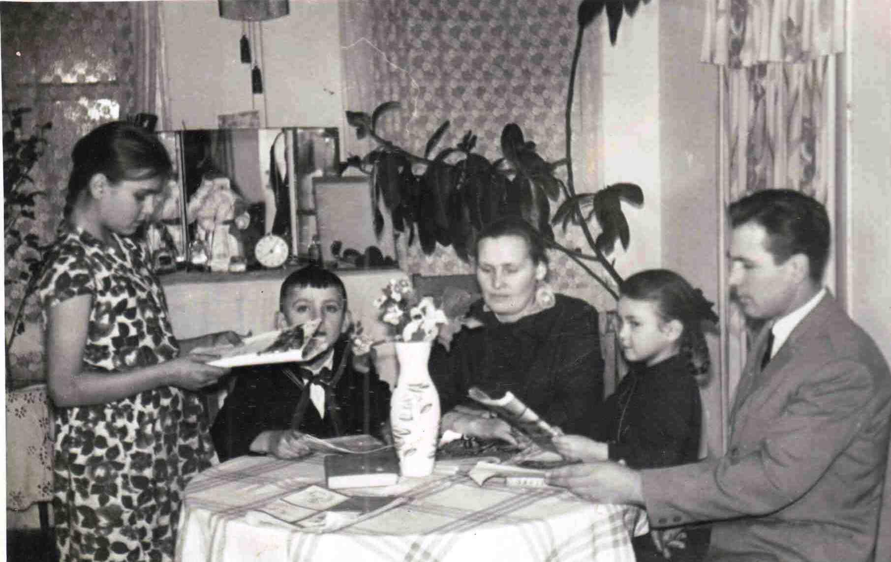 71. Семья Осьмакова НА.