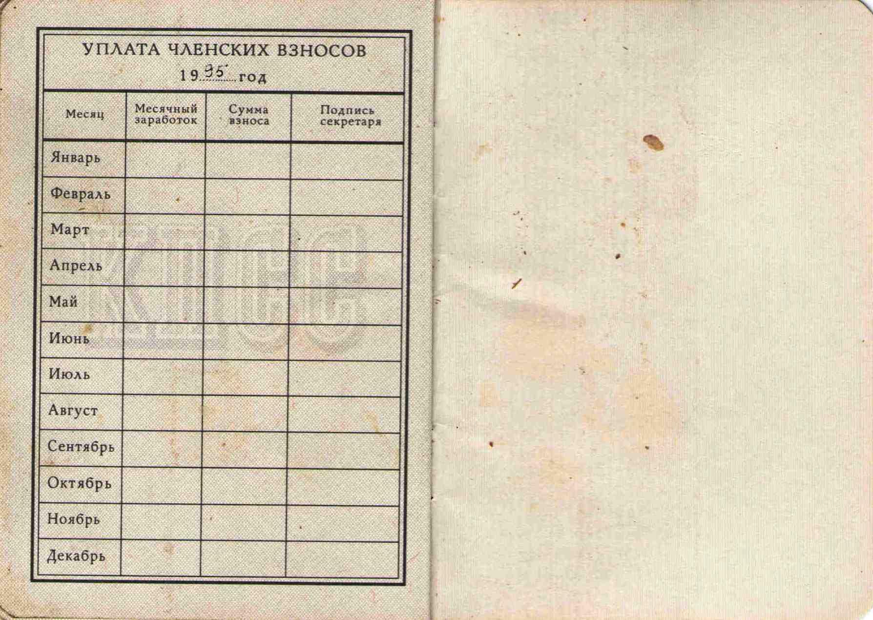 77. Партийный билет Барыкина ПП, 1974