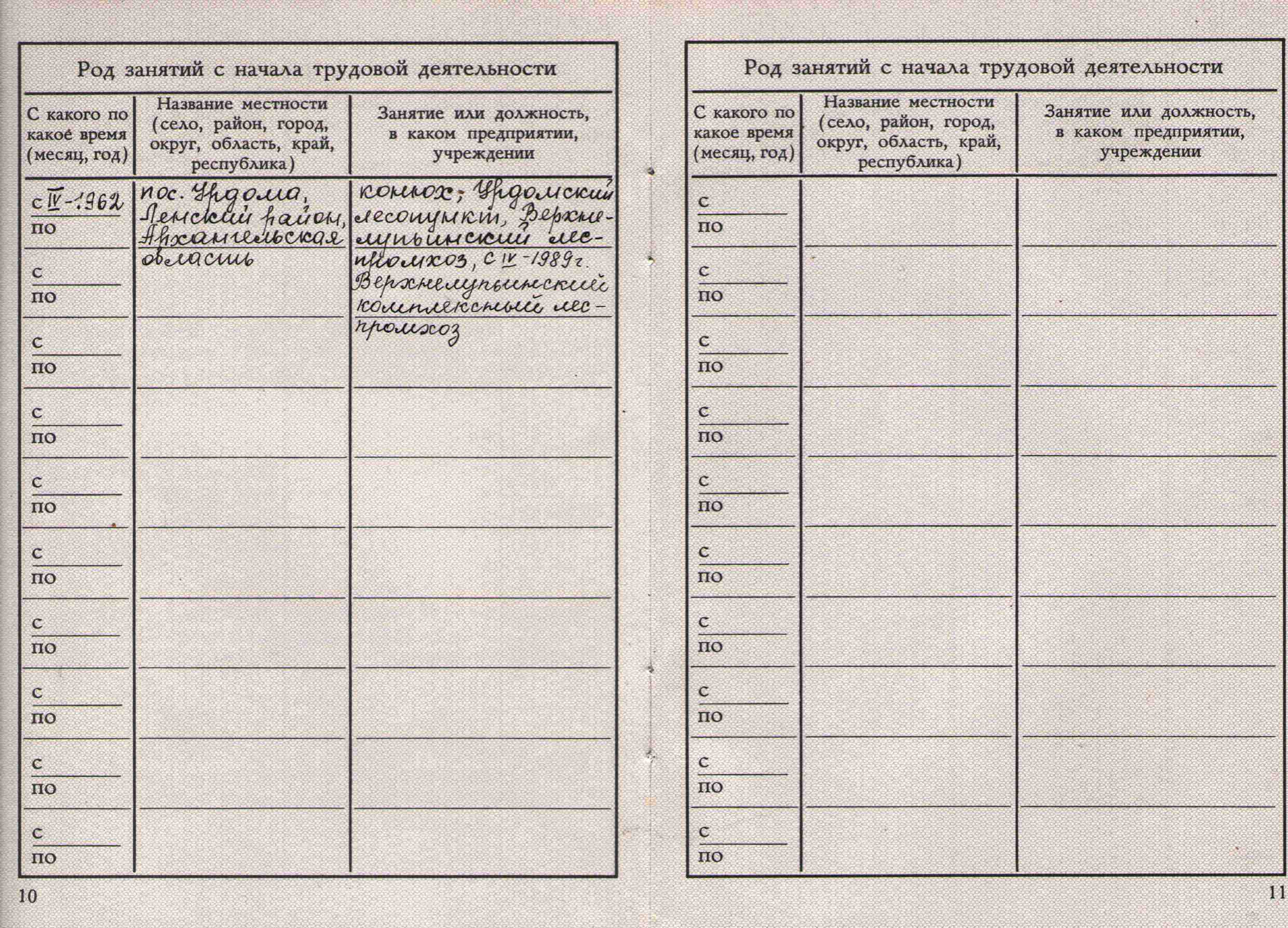 84. Учетная карточка члена партии Барыкина ПП, 1974.