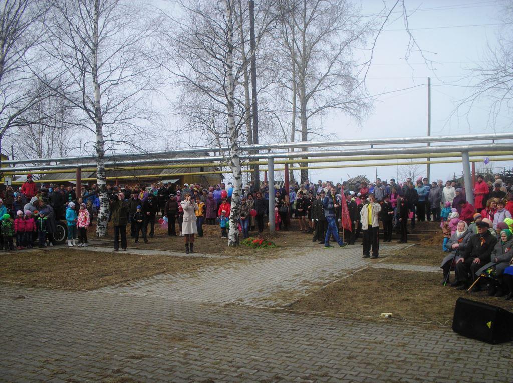 9 мая 2014. Митинг у Обелиска.