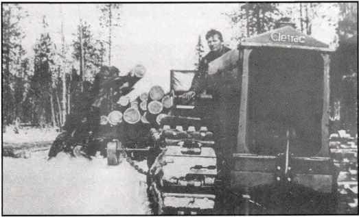 Американский трактор Клетрак.